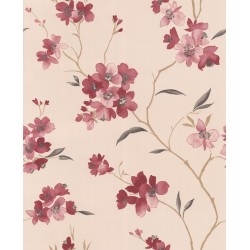 Enthrall Red & Pink Wallpaper