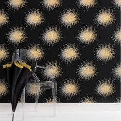 Mikada Gold & Black Wallpaper