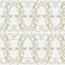 Lobster Quadrille Wallpaper