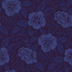Belle Royal Blue Wallpaper