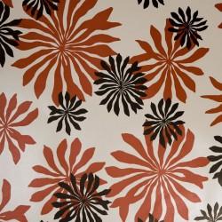 Fleur Red Wallpaper