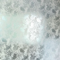 Hothouse Silver and Jade Green Wallpaper