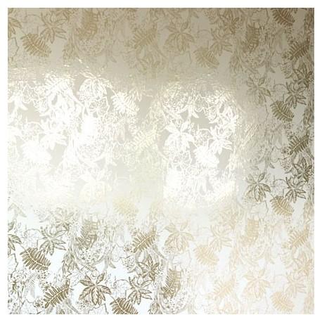 Hothouse Cream & Gold Wallpaper