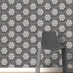 Drain Dark Grey Wallpaper