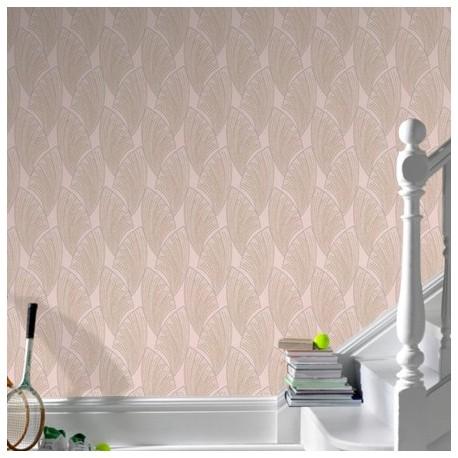 Novella Taupe Wallpaper