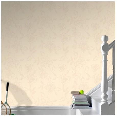 Carmen Cream Wallpaper