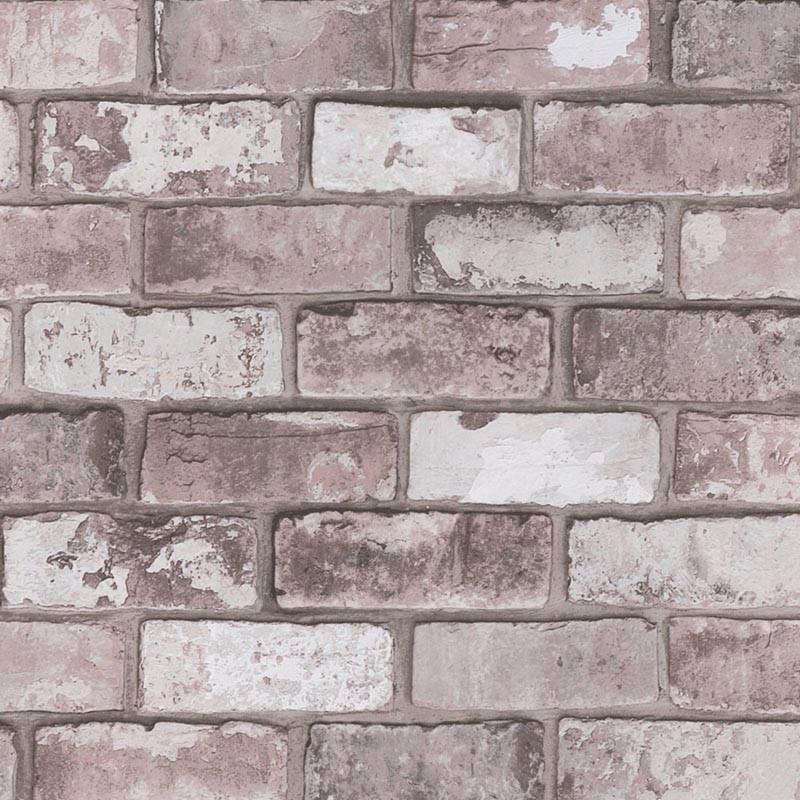 stone world grey brick wallpaper direct brick effect. Black Bedroom Furniture Sets. Home Design Ideas