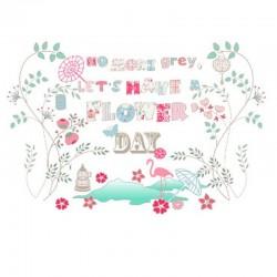 Mural Flower Day