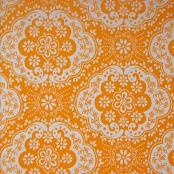 Dentelle Yellow Wallpaper