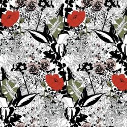 English Garden Colour Wallpaper