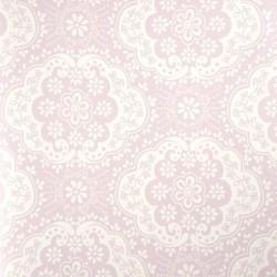 Dentelle Pink Wallpaper