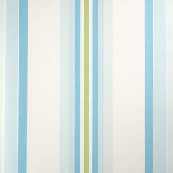 Stripe Turquoise Wallpaper