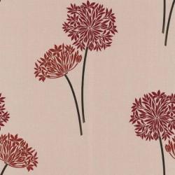 Cora Red & Beige Wallpaper