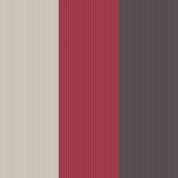 Stria Red & Chocolate Wallpaper