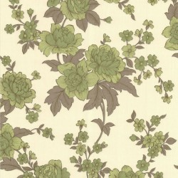 Kensington Pale Green & Cream Wallpaper