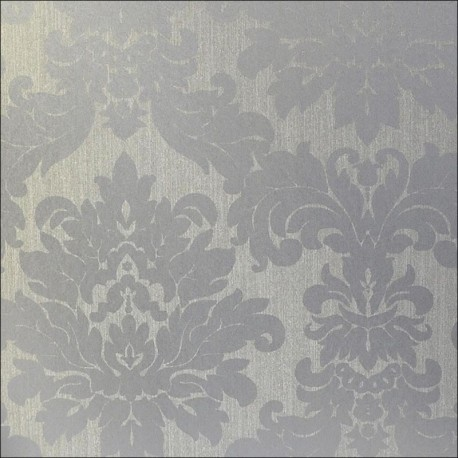 Versalles Silver Alu Wallpaper