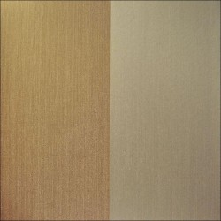 Palatino Chestnut and Gold Stripe Wallpaper