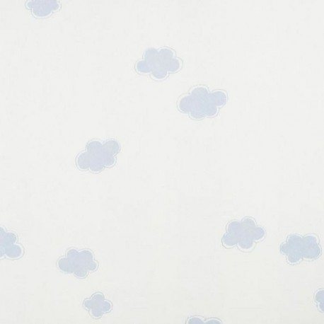 Nuages Clouds Azul Wallpaper