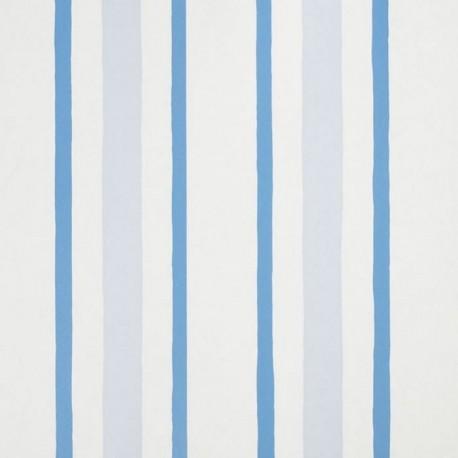 Cherokee Blue Stripes Wallpaper