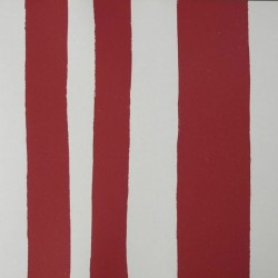 Tatti Rojo Stripe Wallpaper