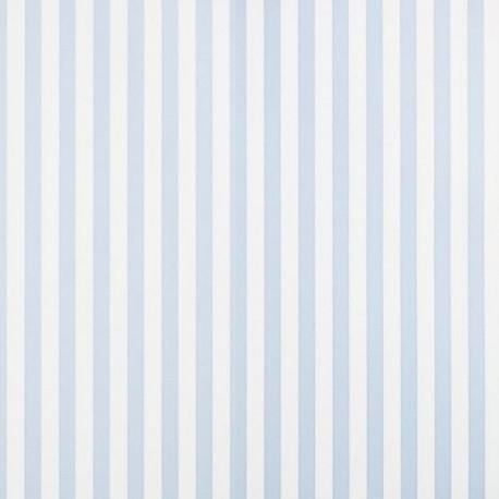 Milena Azul Stripe Wallpaper