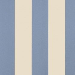 Danubio Blue Beige Stripe Wallpaper