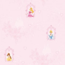 Princess Fairytail Dream Pink Wallpaper