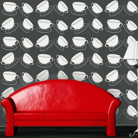 Cuppa Black Wallpaper