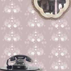 Elizabeth-Rose Pink Wallpaper