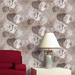 Edward Bowler Brown Wallpaper