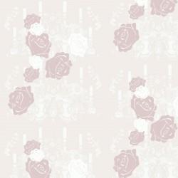 Rosey Glow Pink Wallpaper