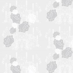 Rosey Glow Pale Grey Wallpaper
