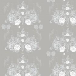 Elizabeth-Rose Grey Wallpaper
