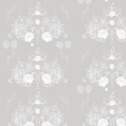Elizabeth-Rose Pale Grey Wallpaper