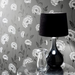 Dazzle Black Wallpaper