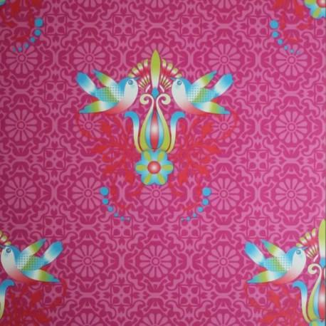 Tweet Fuchsia Wallpaper