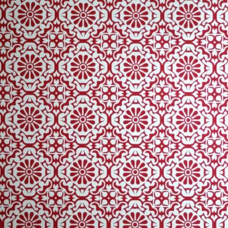 Daisy Red Wallpaper