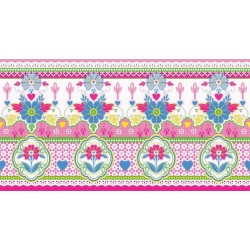 Lace Pink Border