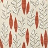 Garden City Putty Rouge Wallpaper