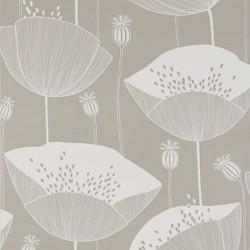 Poppy Mushroom Wallpaper