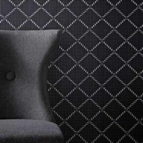 Quantum Black Silver Wallpaper