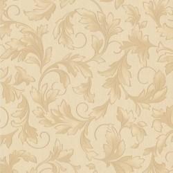 Charmed Cream & Gold & Beige Wallpaper