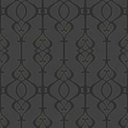 Balustrade Slate Black Wallpaper