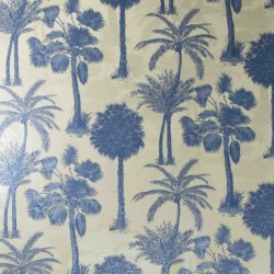 Coconut Grove Cobalt Wallpaper