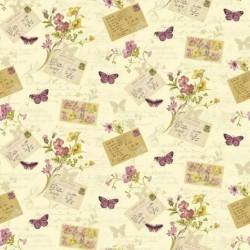 Postcards Home Rosa Wallpaper
