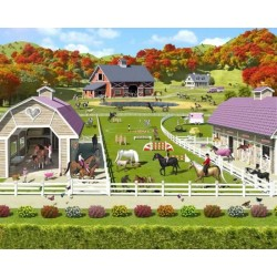 Walltastic Horse and Pony Stables Mural