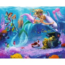 Walltastic Mermaids Mural