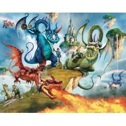 Walltastic Land of Knights & Dragons Mural
