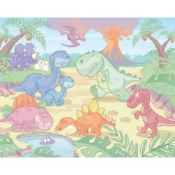 Walltastic Baby Dino World Mural