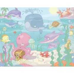 Walltastic Baby Under the Sea Mural